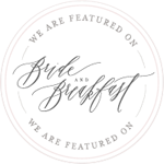 As Featured on Bride and Breakfast